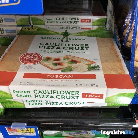 Green Giant Tuscan Cauliflower Pizza Crust