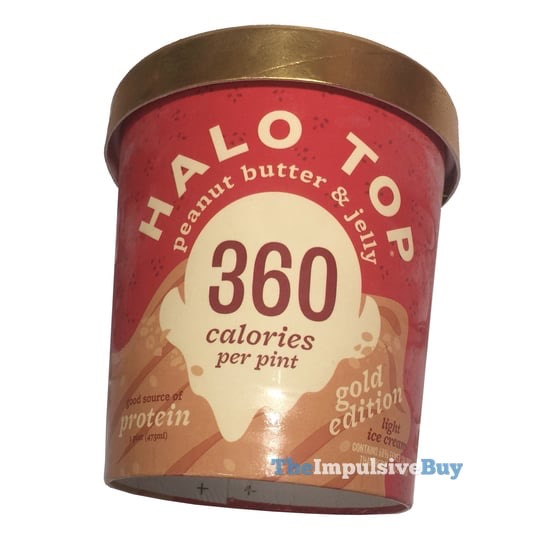Halo Top Peanut Butter  Jelly Ice Cream