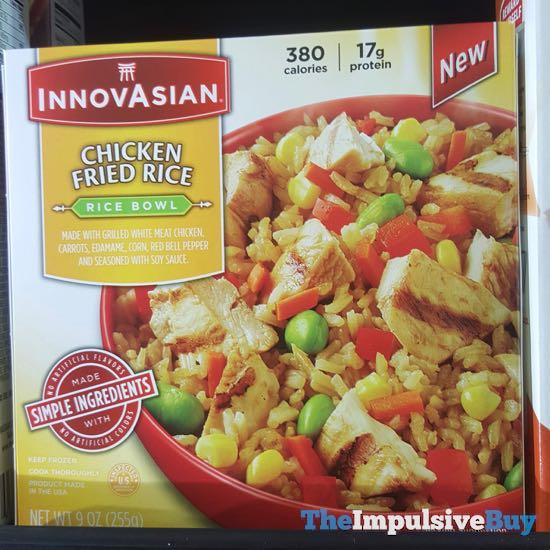 InnovAsian Chicken Fried Rice Rice Bowl