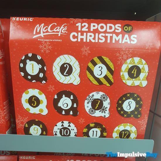 Keurig McCafe 12 Pods of Christmas