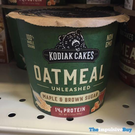 Kodiak Cakes Oatmeal Unleashed Maple  Brown Sugar