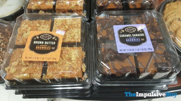 Kroger Private Selection Brown Butter and Caramel Ganache Decadent Brownies