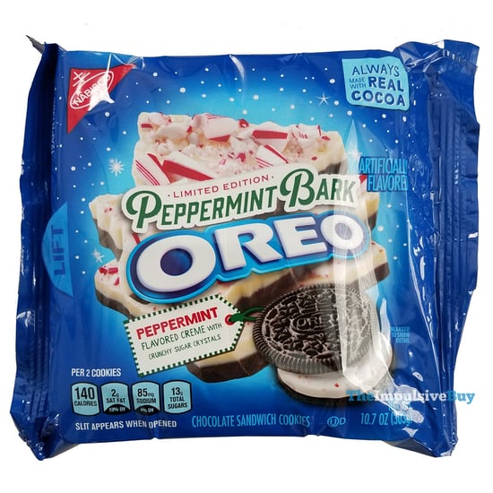 Review Limited Edition Peppermint Bark Oreo The Impulsive Buy