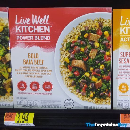Live Well Kitchen Power Blend Bold Baja Beef