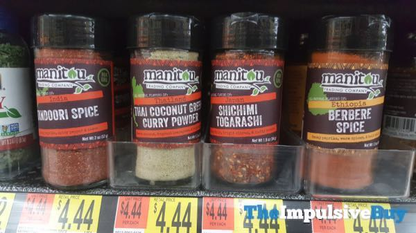 Manitou Trading Company Tandoori Spice Thai Coconut Green Curry Powder Shichimi Togarashi and Berbere Spice