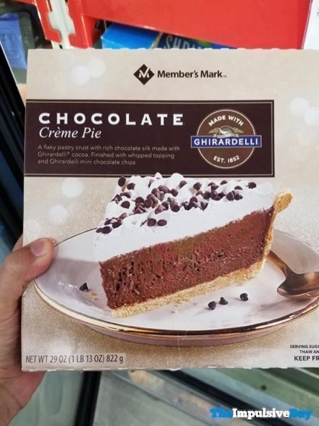 Member s Mark Chocolate Creme Pie Made With Ghirardeill