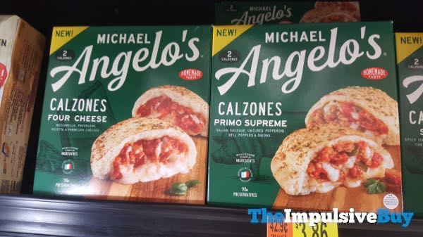 Michael Angelo s Four Cheese and Primo Supreme Calzones