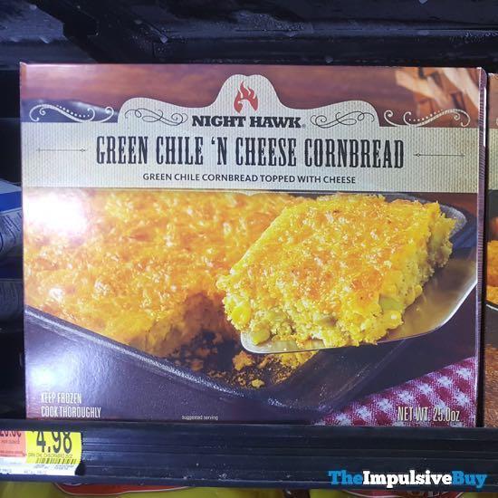 Night Hawk Green Chile  n Cheese Cornbread