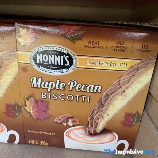 Nonni s Limited Batch Maple Pecan Biscotti