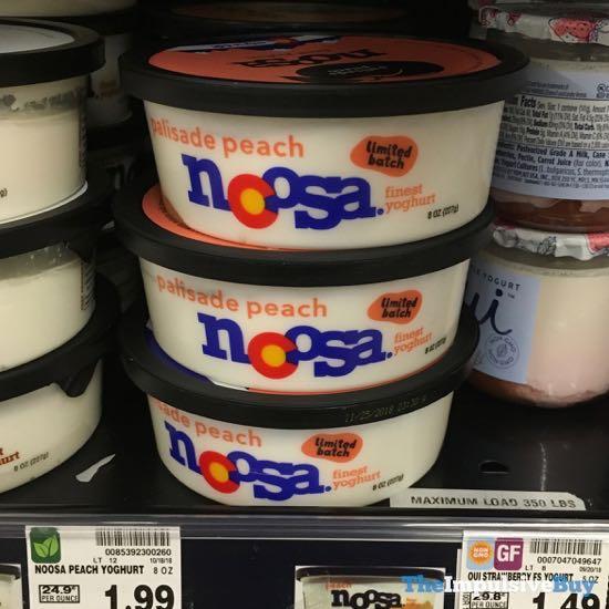 Noosa Limited Batch Palisade Peach Yoghurt