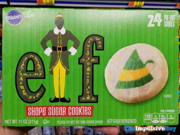Pillsbury Elf Shape Sugar Cookies