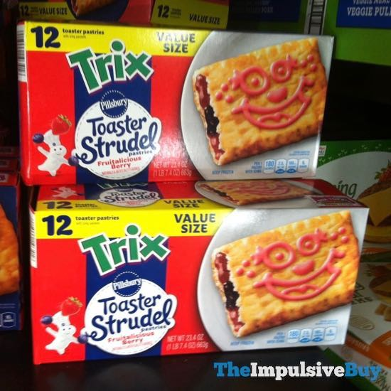 Pillsbury Trix Fruitalicious Berry Toaster Strudel