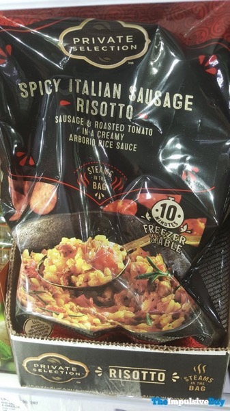 Private Selection Steams in the Bag Spicy Italian Sausage Risotto