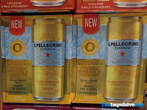 S Pellegrino Essenza Lemon  Lemon Zest