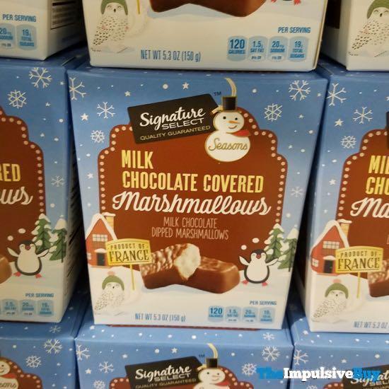Safeway Signature Select Seasons Milk Chocolate Covered Marshmallow