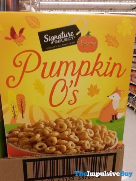Safeway Signature Select Seasons Pumpkin O s Cereal