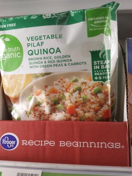 Simple Truth Organic Steam in Bag Vegetable Pilaf Quinoa