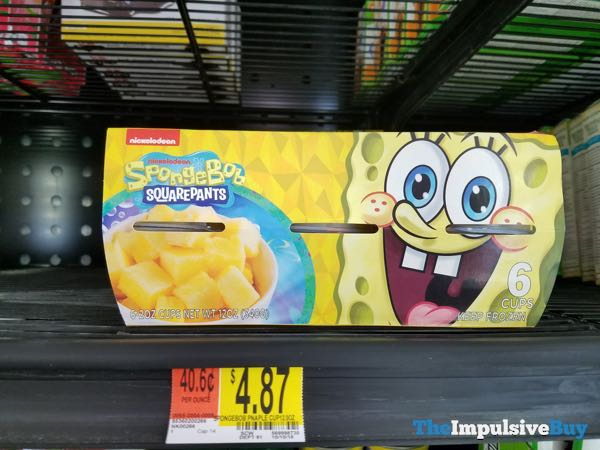 Spongebob Squarepants Pineapple Cups