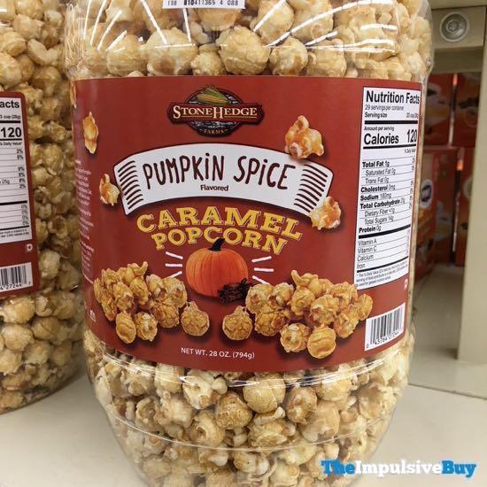 Stone Hedge Pumpkin Spice Caramel Popcorn