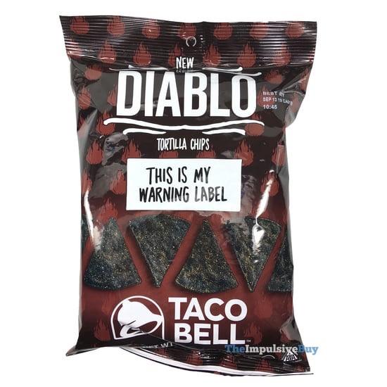 Taco Bell Diablo Tortilla Chips