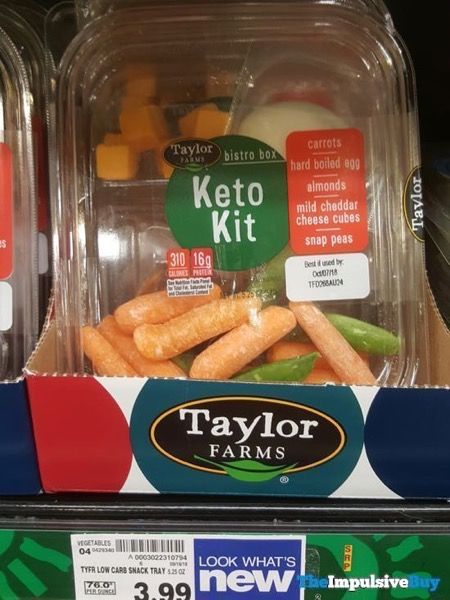 Taylor Farms Bistro Box Keto Kit