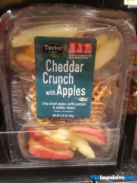 Taylor Farms Cheddar Crunch with Apples