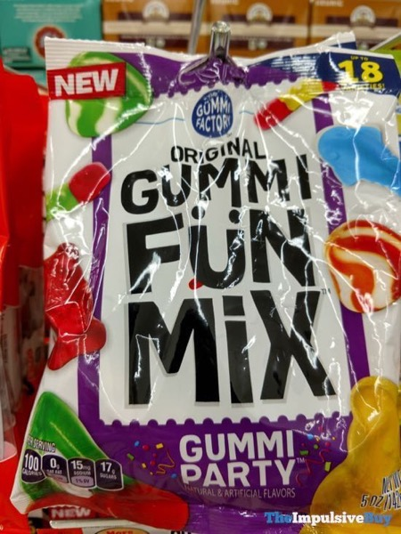 The Gummi Factory Gummi Party Original Gummy Fun Mix