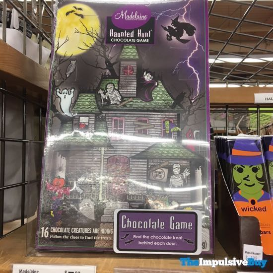 The Madelaine Chocolate Company Haunted Hunt Chocolate Game