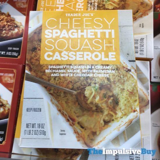 Trader Joe s Cheesy Spaghetti Squash Casserole