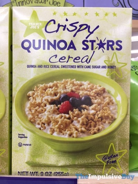 Trader Joe s Crispy Quinoa Stars Cereal