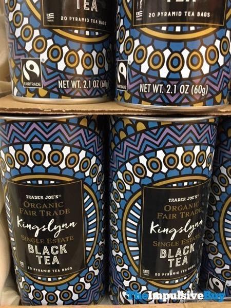 Trader Joe s Organic Fair Trade Kingslynn Single Estate Black Tea