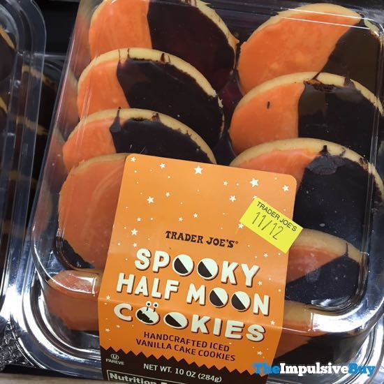 Trader Joe s Spooky Half Moon Cookies
