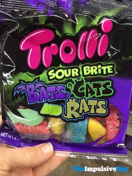 Trolli Sour Brite Bats Cats and Rats