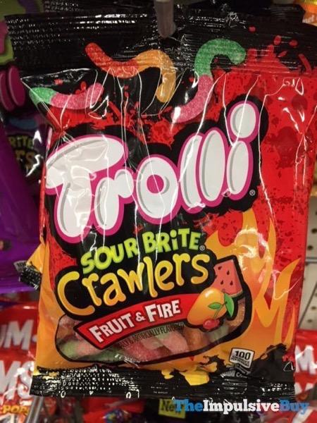 Trolli Sour Brite Crawlers Fruit  Fire