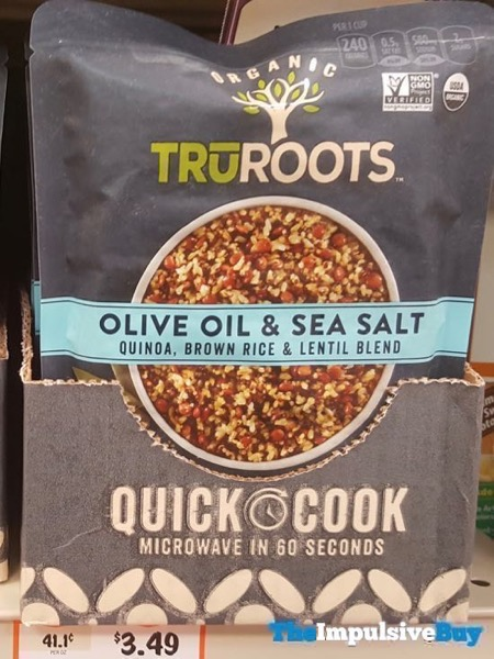TruRoots Olive Oil  Sea Salt Quinoa Brown Rice  Lentil Blend