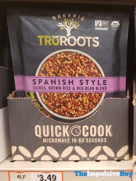 TruRoots Spanish Style Quinoa Brown Rice  Red Bean Blend