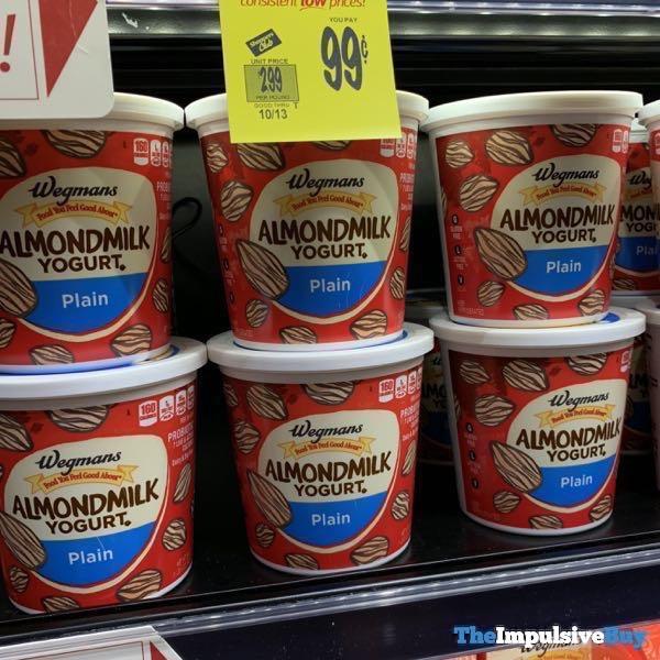 Wegmans Almond Milk Yogurt Plain  24 oz
