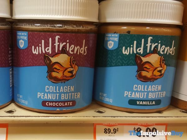 Wild Friends Chocolate And Vanilla Collagen Peanut Butter