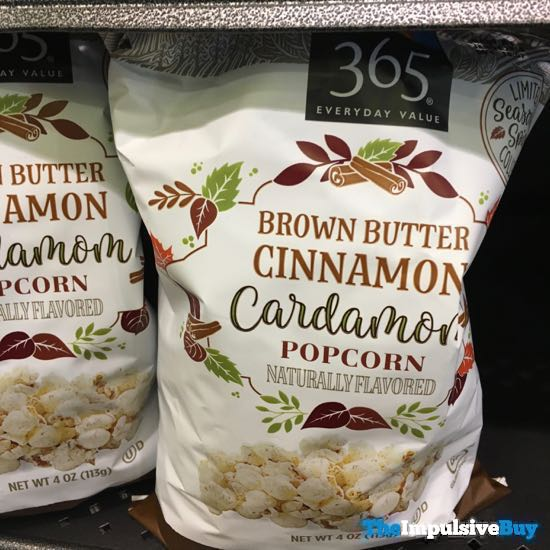 365 Everyday Value Seasonal Spice Brown Butter Cinnamon Cardamom Popcorn