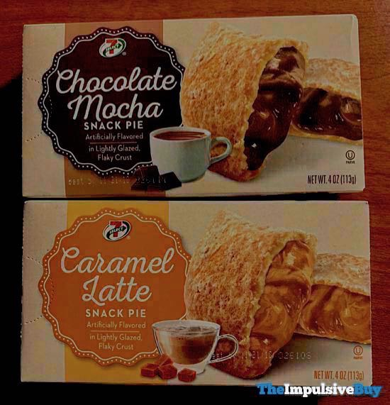 7 Select Chocolate Mocha and Caramel Latte Snack Pies