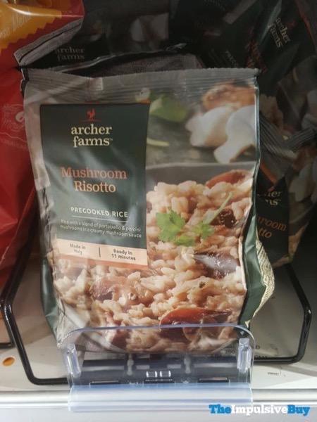 Archer Farms Mushroom Risotto Precooked Rice
