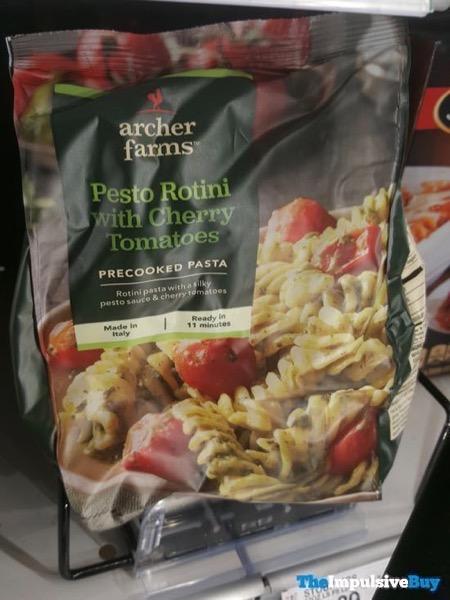 Archer Farms Pesto Rotini with Cherry Tomatoes Precooked Pasta