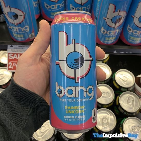 Bang Rainbow Unicorn Energy Drink