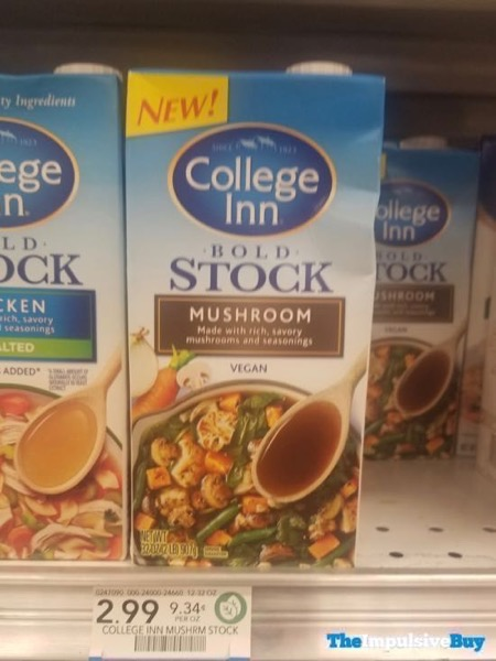 College Inn Bold Stock Mushroom