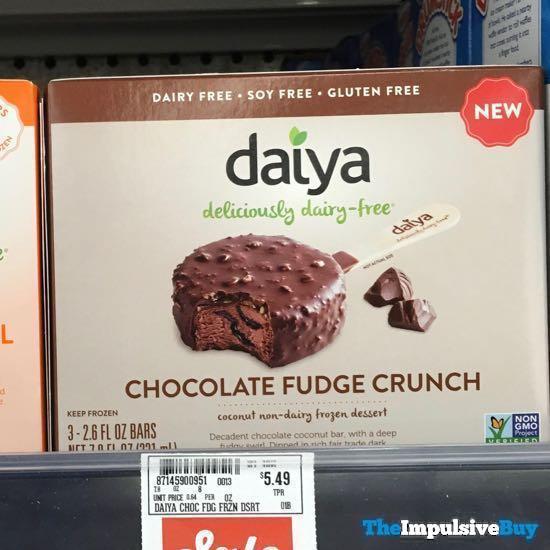 Daiya Chocolate Fudge Crunch Coconut Non Dairy Frozen Dessert