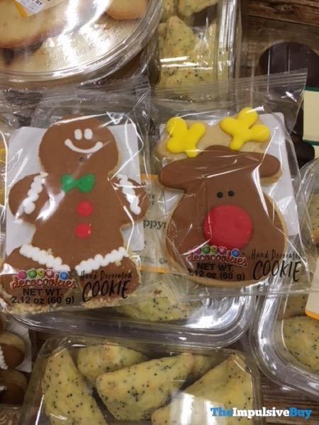 Decocookies Gingerbread Man and Reindeer