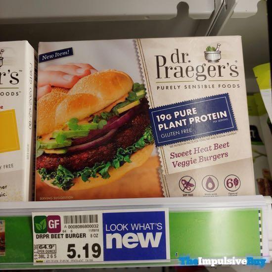 Dr Praeger s Sweet Heat Beef Veggie Burgers