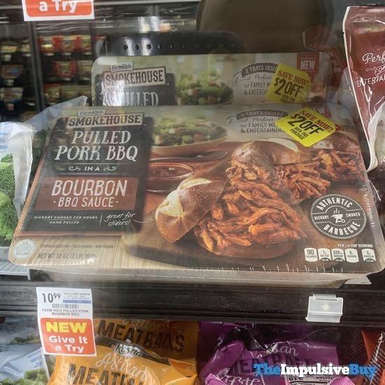 Farm Rich Smokehouse Pulled Pork BBQ in a Bourbon BBQ Sauce