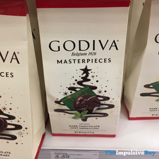 Godiva Masterpieces Dark Chocolate Mint Medallion