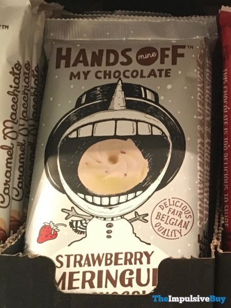 Hands Off My Chocolate Strawberry Meringue White Chocolate Bar